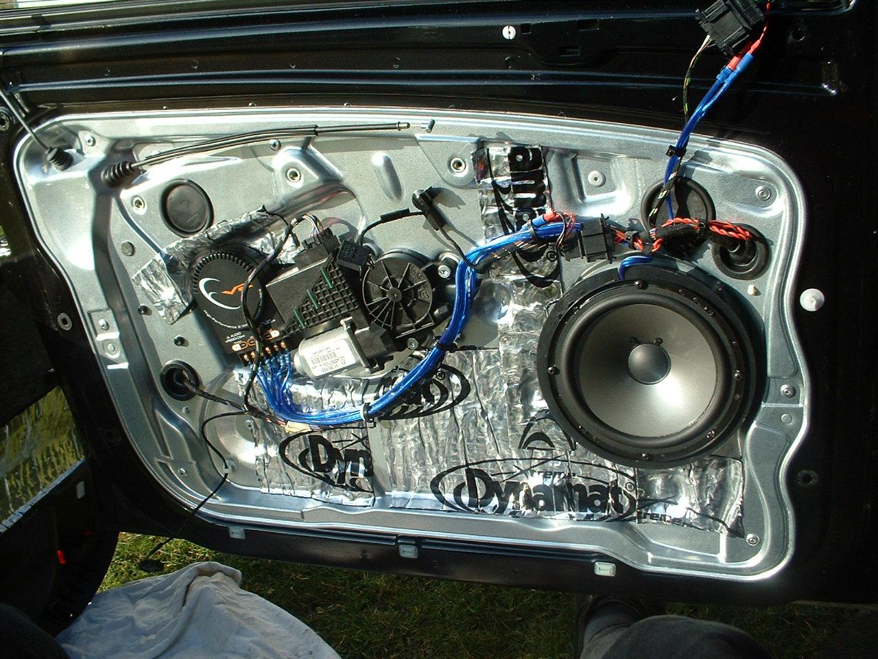 Front And Rear Speakers For Vrs Skoda Fabia Mk I Briskoda