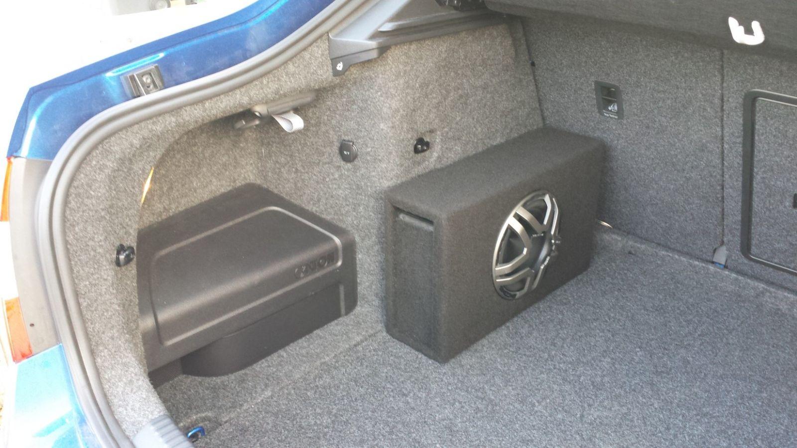 Major Sound System Upgrade Skoda Octavia Mk Iii 2013