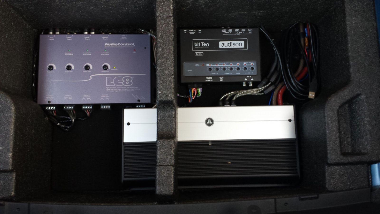 Major sound system upgrade - Skoda Octavia Mk III (2013 ...