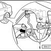 octavia Mk1 rear sensor location