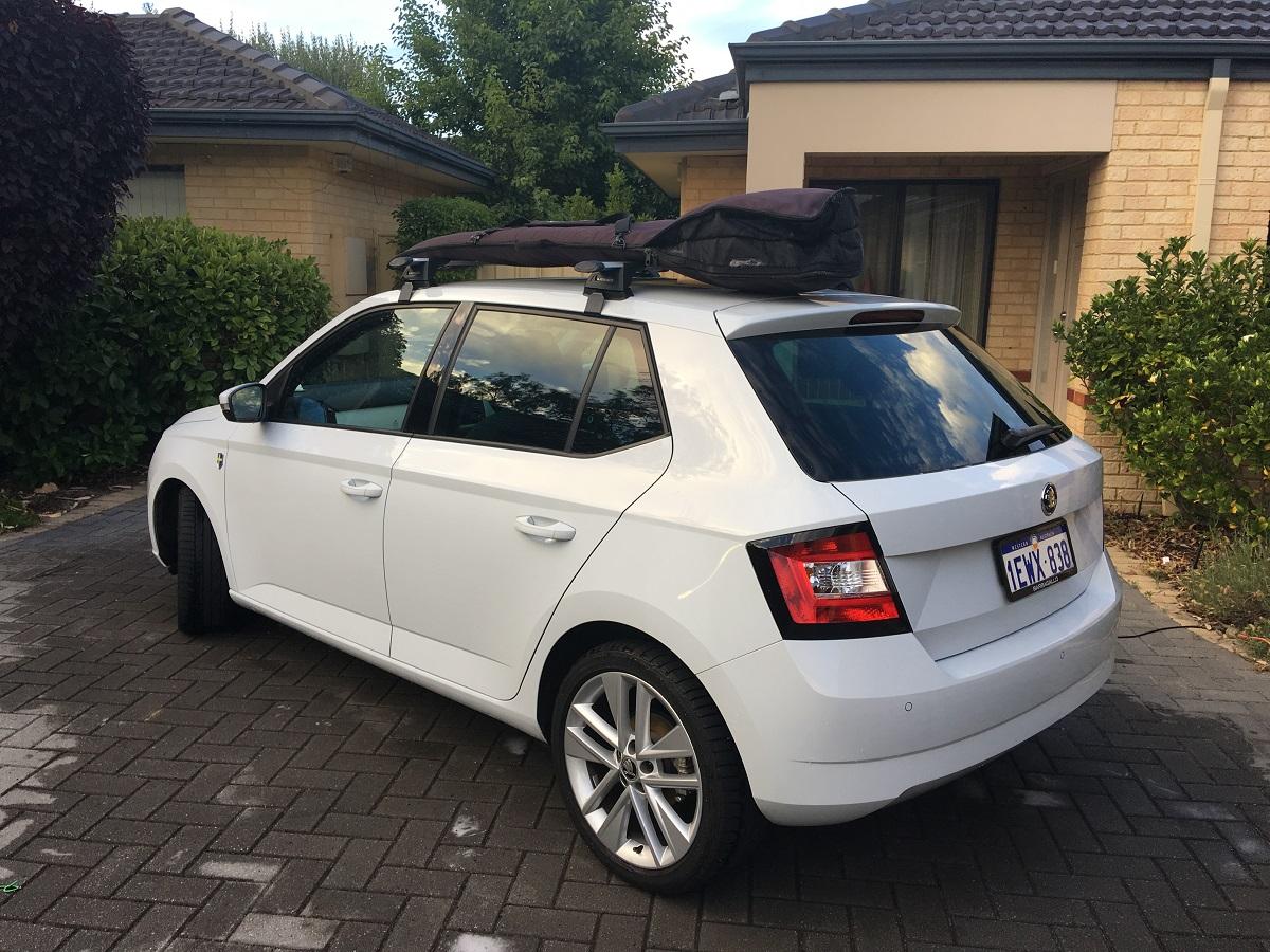 Roof Racks For 2015 Fabia 1 2 Hatch Skoda Fabia Mk Iii