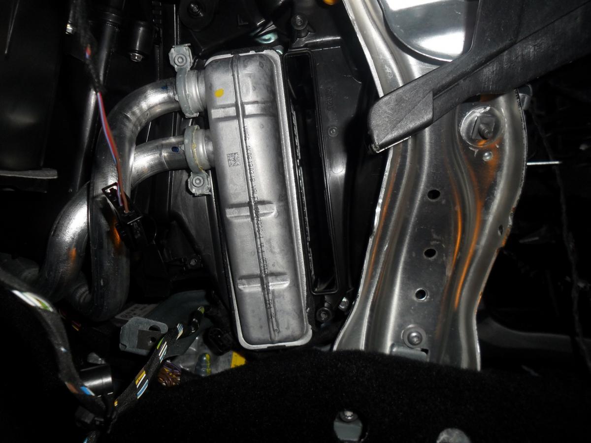 octavia auxiliary heater