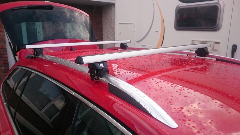 Combi roof bars *nicowalker* - Skoda Superb Mk III - BRISKODA