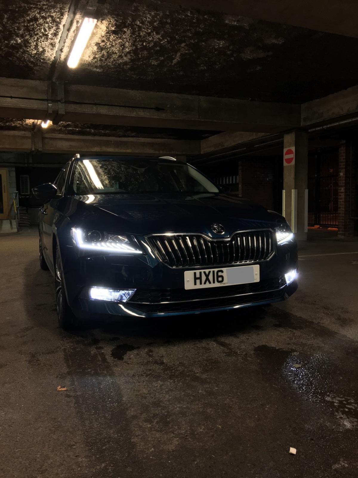 Car Led Lamp >> LED fog lights - Skoda Superb Mk III - BRISKODA