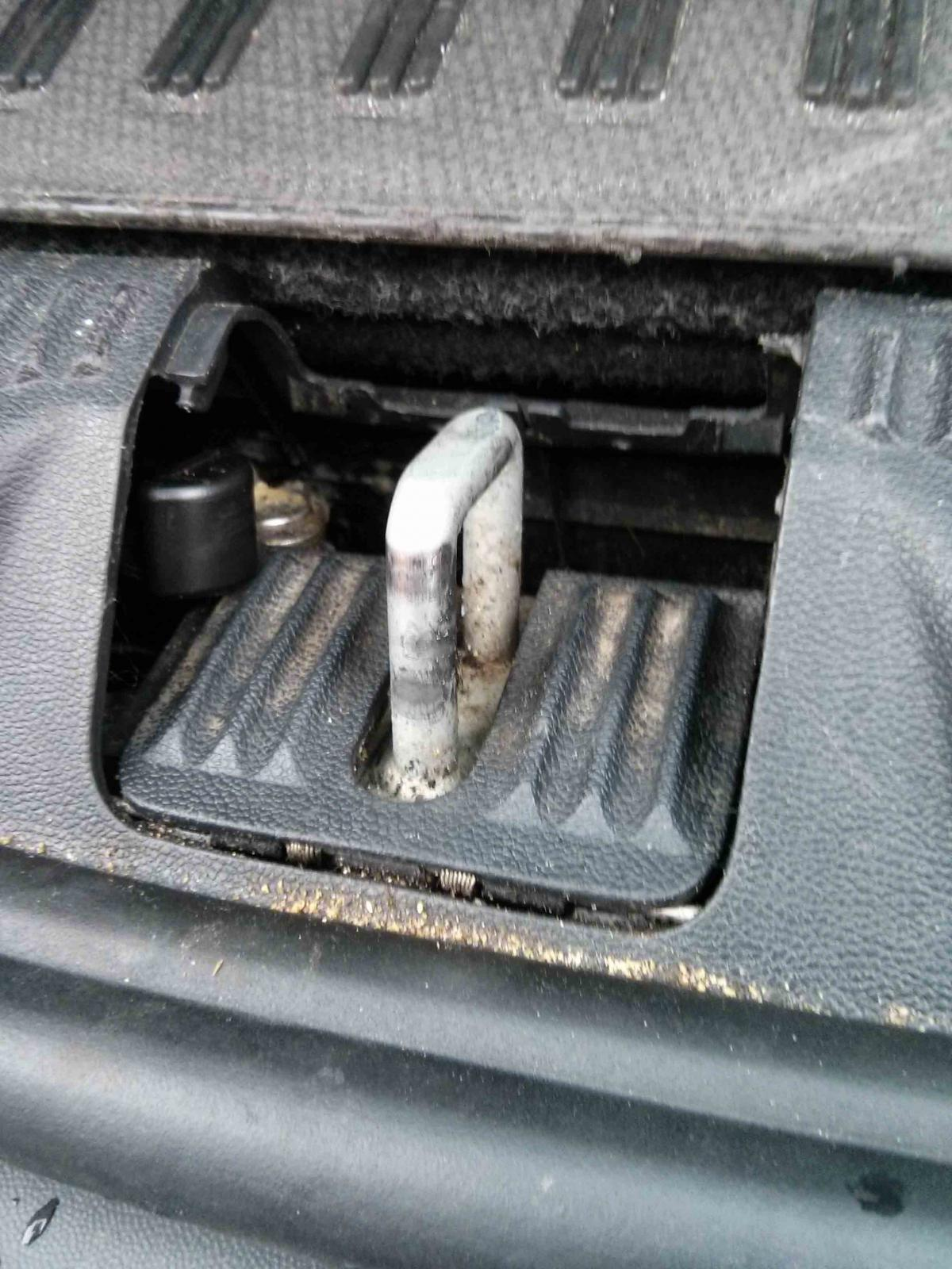 Estate Boot Will Not Close Skoda Octavia Mk Ii 2004