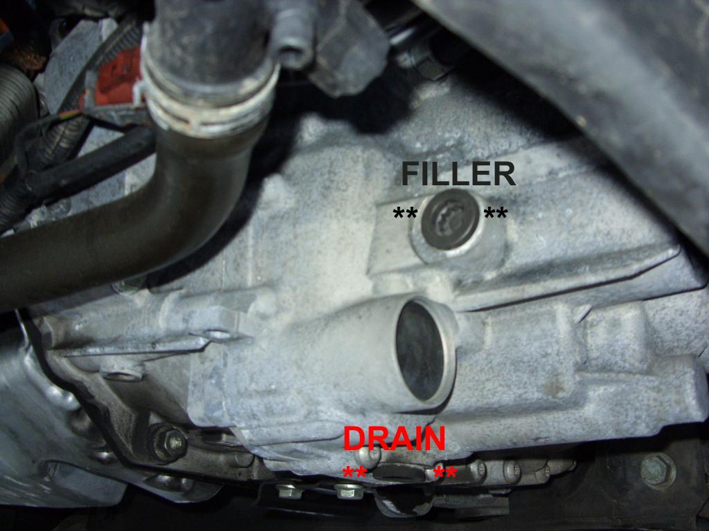 Checking Gearbox Oil Level Skoda Fabia Mk I Briskoda