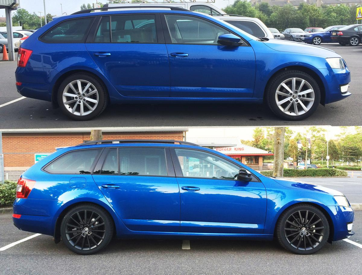 Octavia Elegance With Small Styling Modifications Skoda