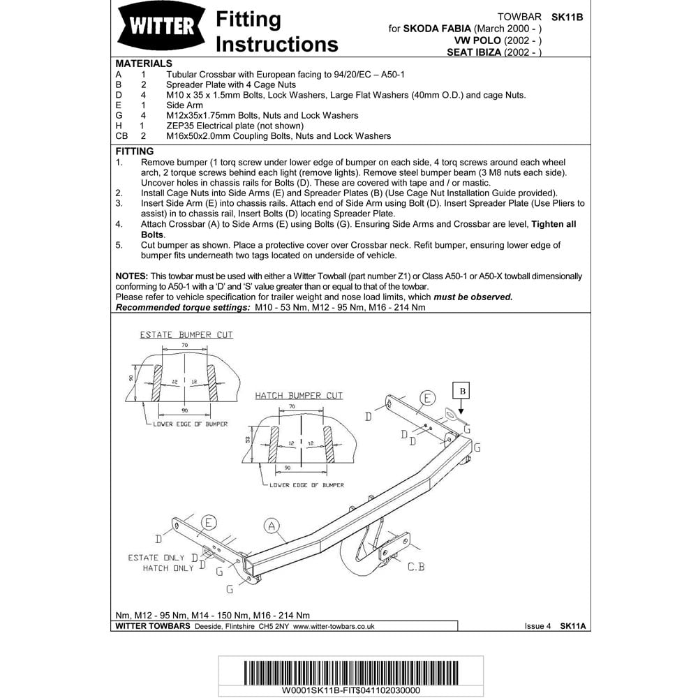 Skoda Fabia Towbar Wiring Diagram Trusted Diagrams Witter For Light Switch U2022 S2000
