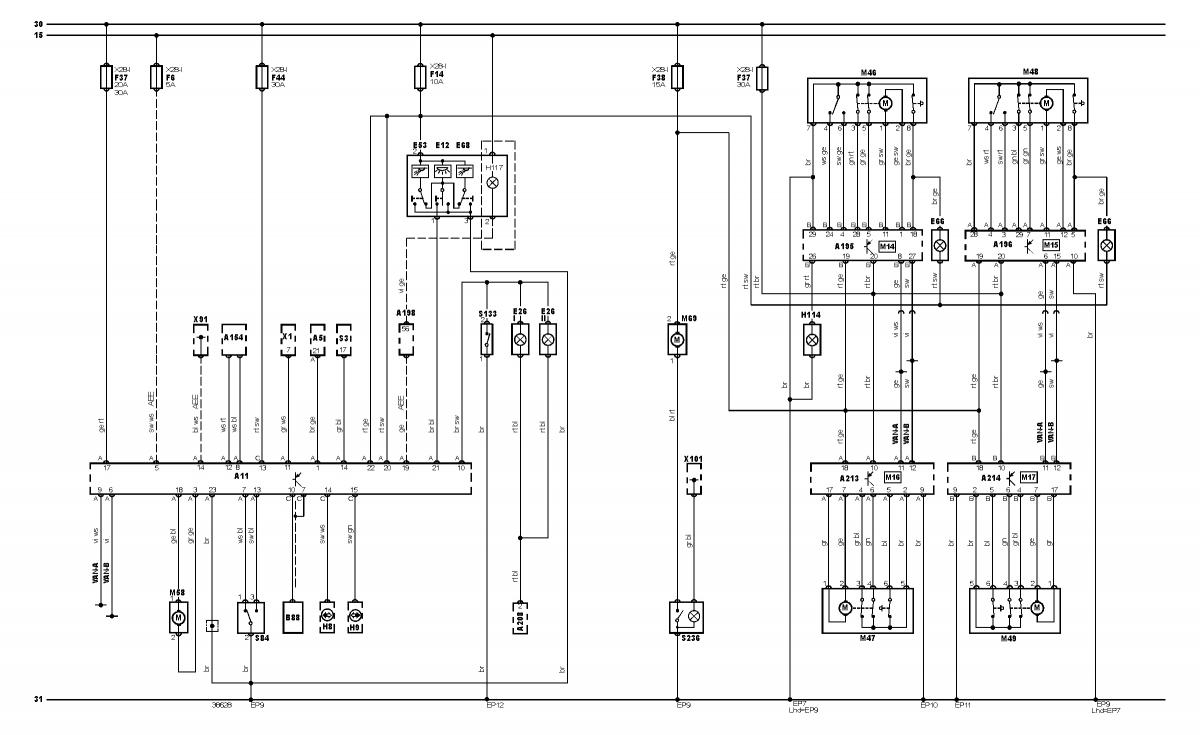 skoda octavia door wiring diagram another central locking snag - skoda octavia mk i - briskoda