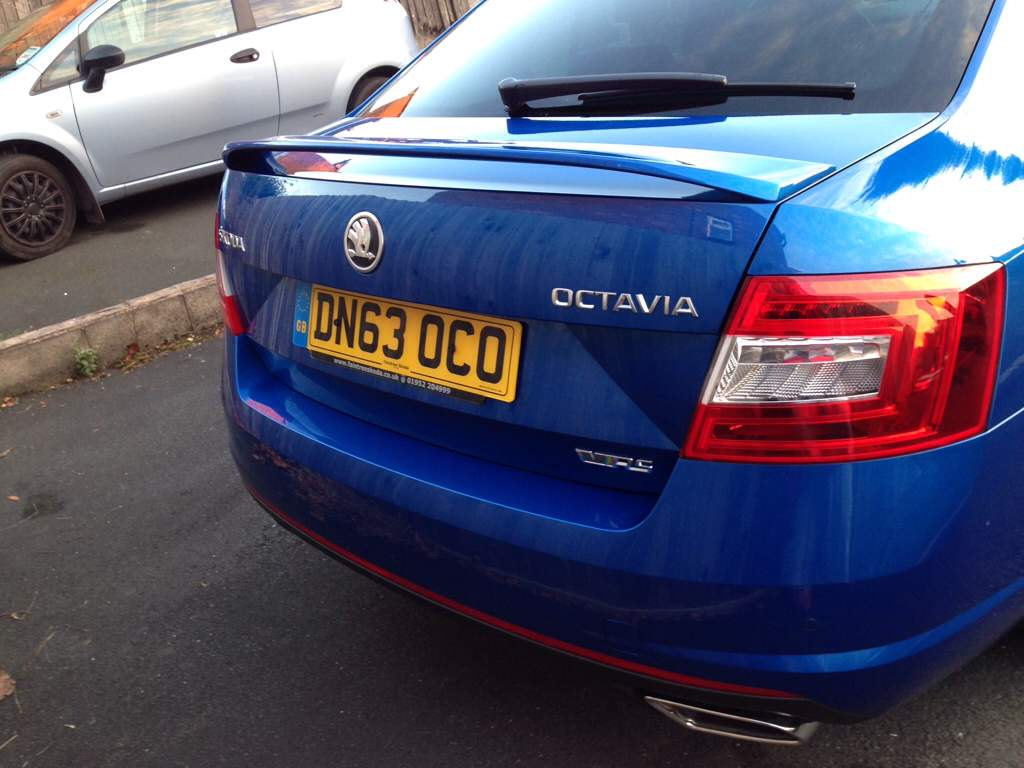 De Badged My Vrs Yesterday Skoda Octavia Mk Iii 2013
