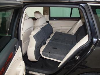 Folding Rear Seats Down In Estate Skoda Superb Mk Iii