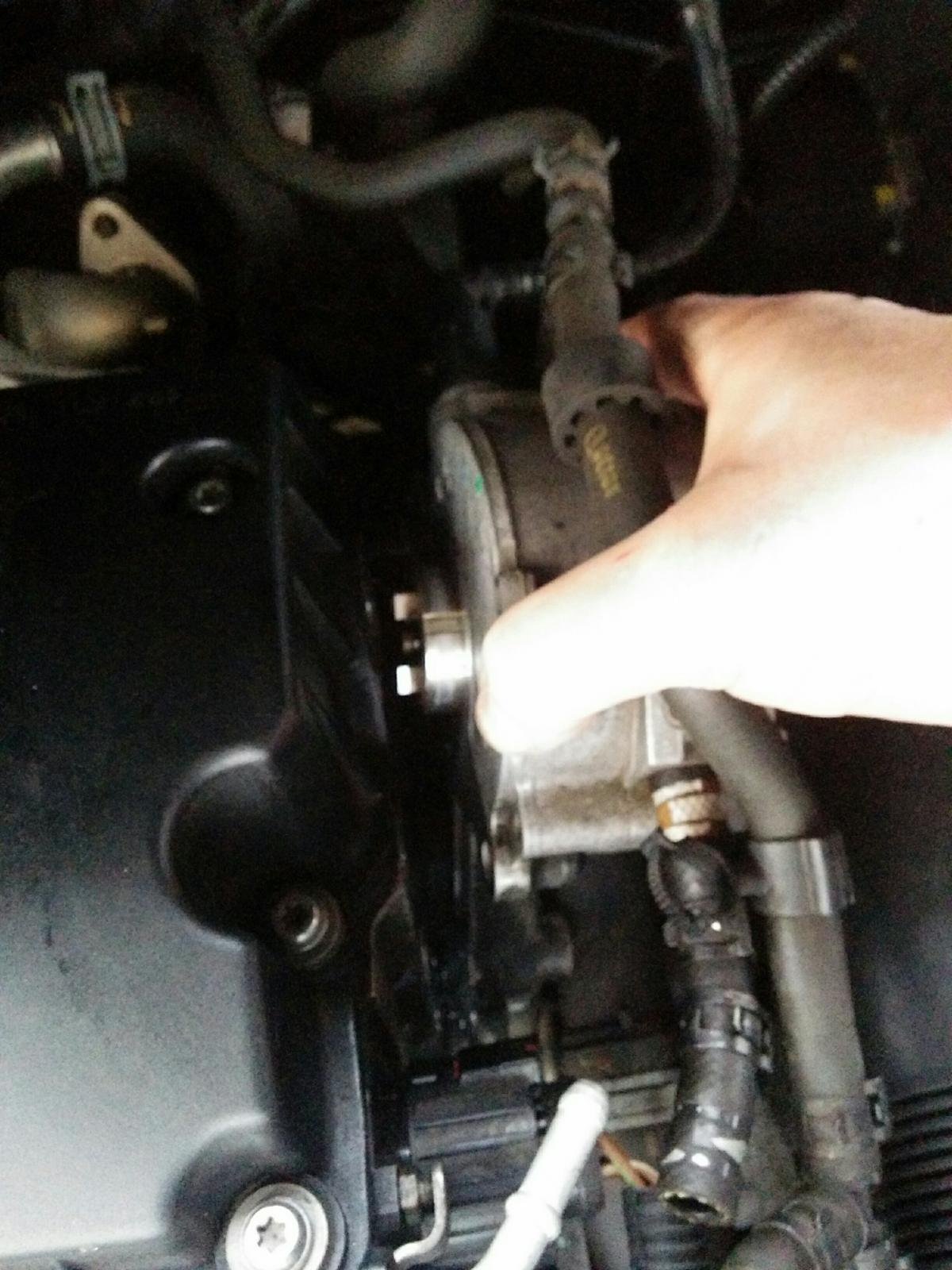 Oil Leak down back of engine - Tandem Pump - Skoda Roomster Mk I