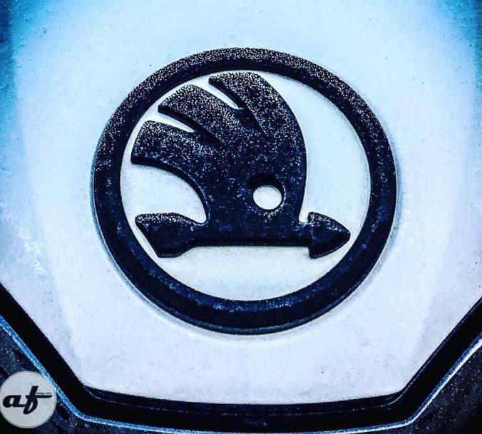 What Is Uber Black Car >> Black & White skoda emblem - Skoda Octavia Mk III (2013 onward) - BRISKODA