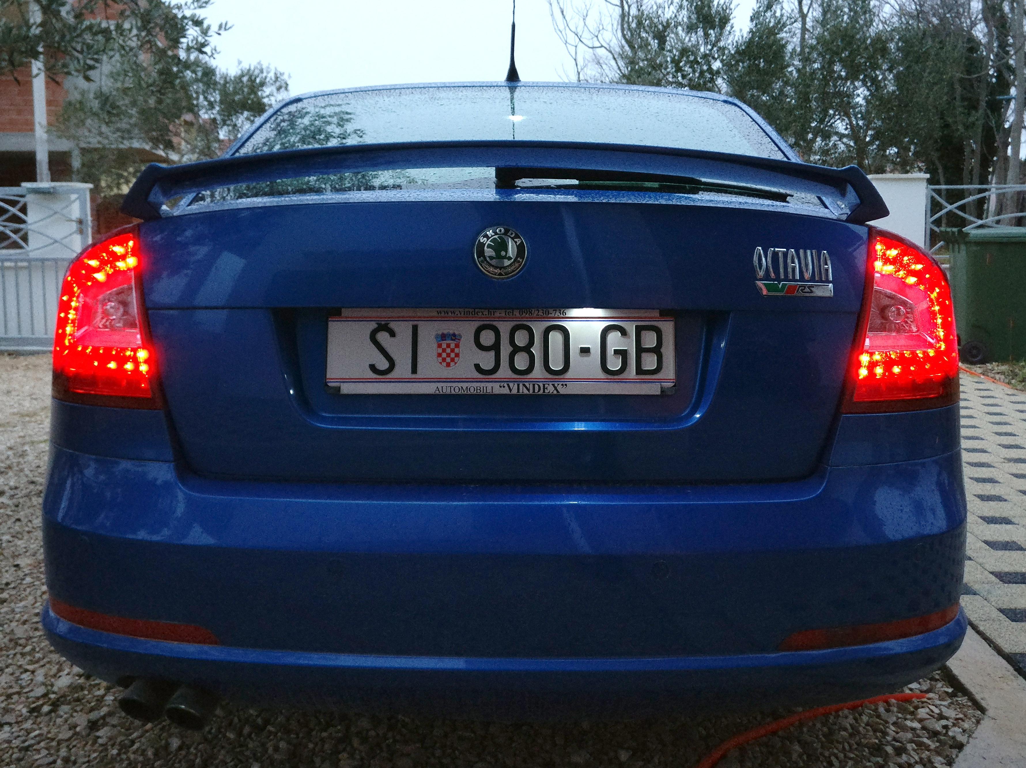 No filament bulb project Skoda Octavia Mk II 2004 2013