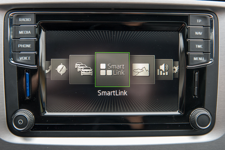Zeer Amundsen MIB STD2 infotainment system with Android in Superb II  UO-42