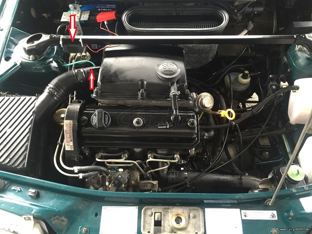 skoda pick up 1 3 engine diagram felicia pick up 1.9 d - classic skoda projects - briskoda #3