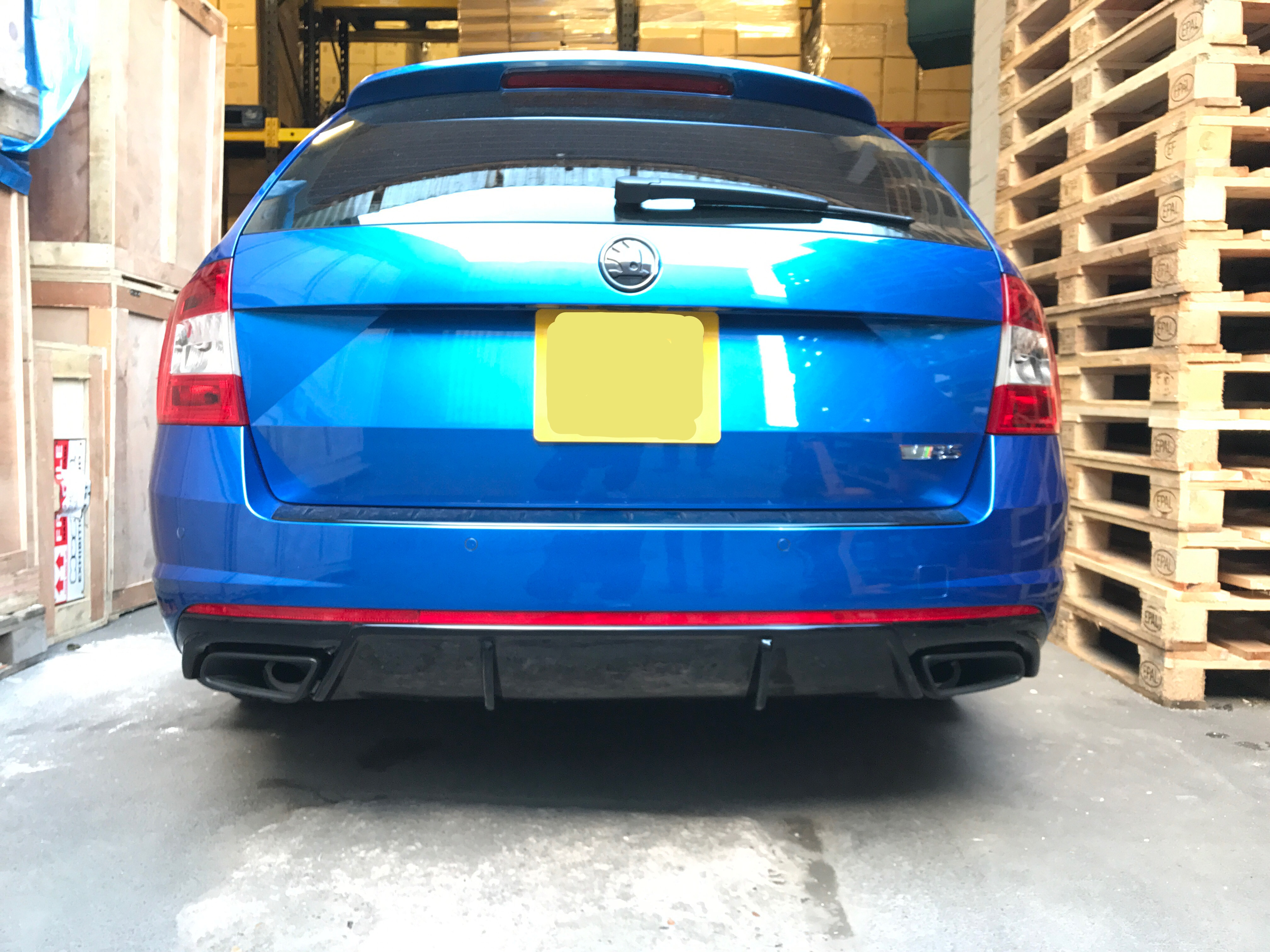 Show Us Your Rear Diffuser For VRS Combi - Page 2 - Skoda Octavia Mk