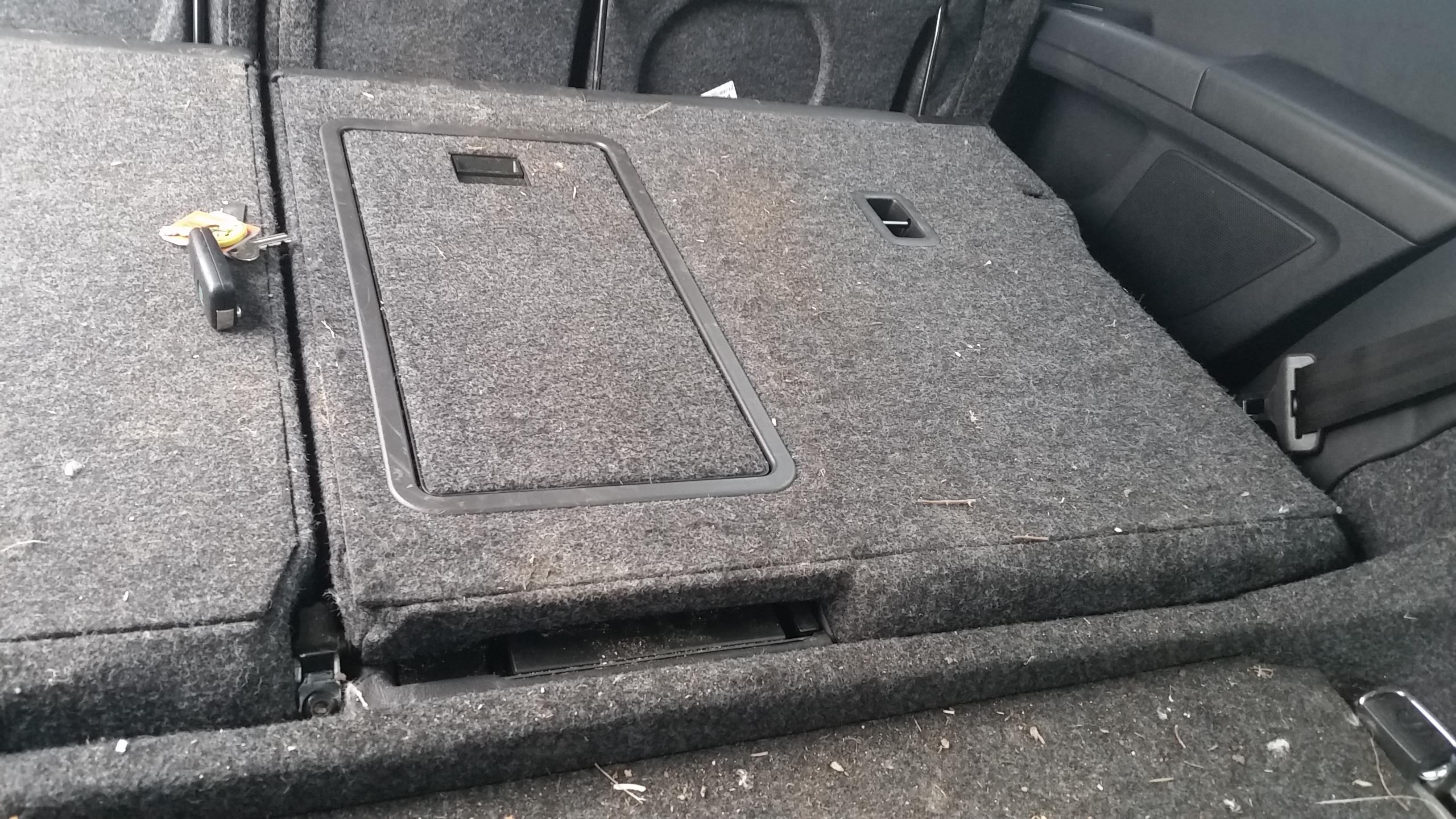 Removing Rear Seats Skoda Superb Estate Skoda Superb Mk Ii