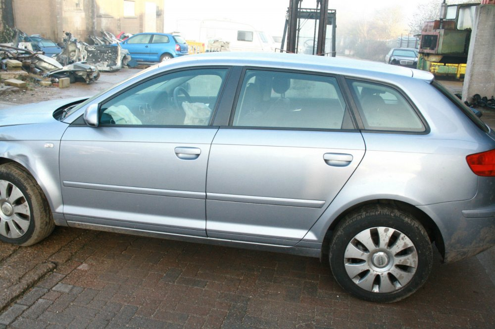 Breaking 2006 Audi A3 1 6 Bse Blue Ly7h 5 Speed