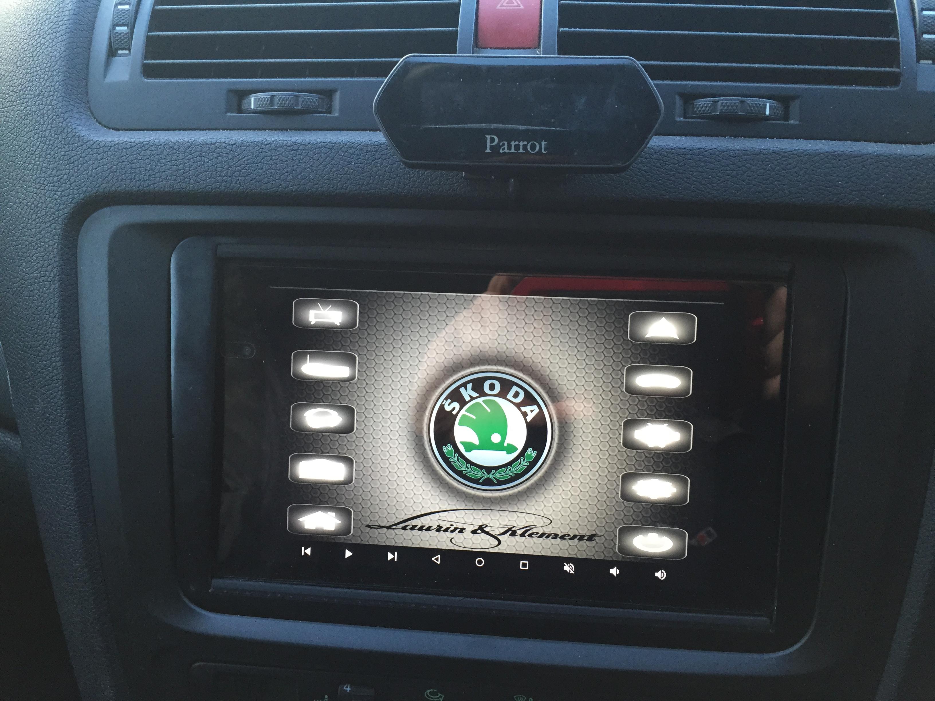 steering wheel buttons resistive or digital Skoda Octavia Mk II