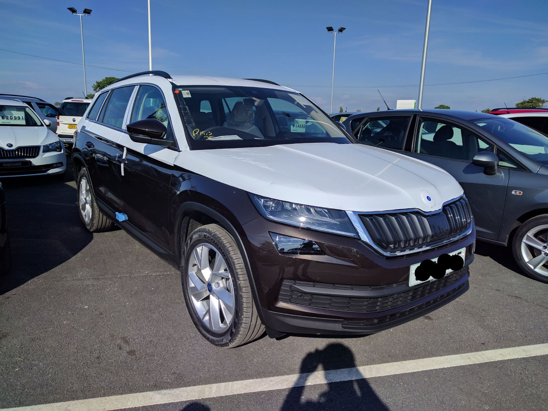 Possibly The First Kodiaq In Magnetic Brown Metallic