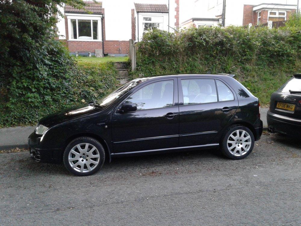 Sold 2007 Black Magic Fabia Vrs Cars For Sale Briskoda