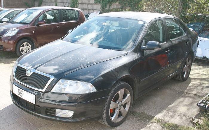 Breaking  2006 Skoda Octavia 2 0 Tdi Bkd  Black 9910