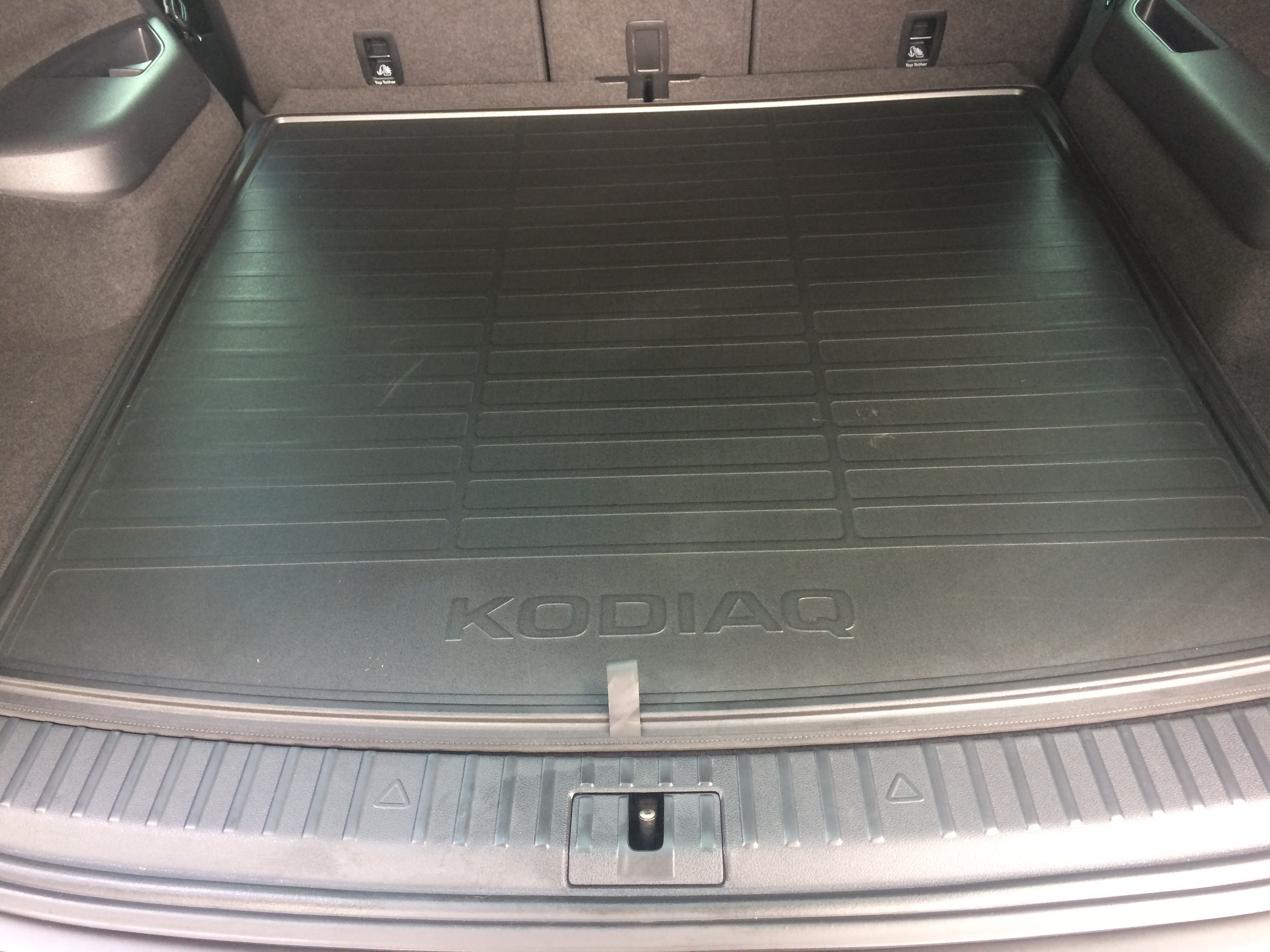 Kodiaq Reversible Boot Mat 3 Quot Too Small Skoda Kodiaq