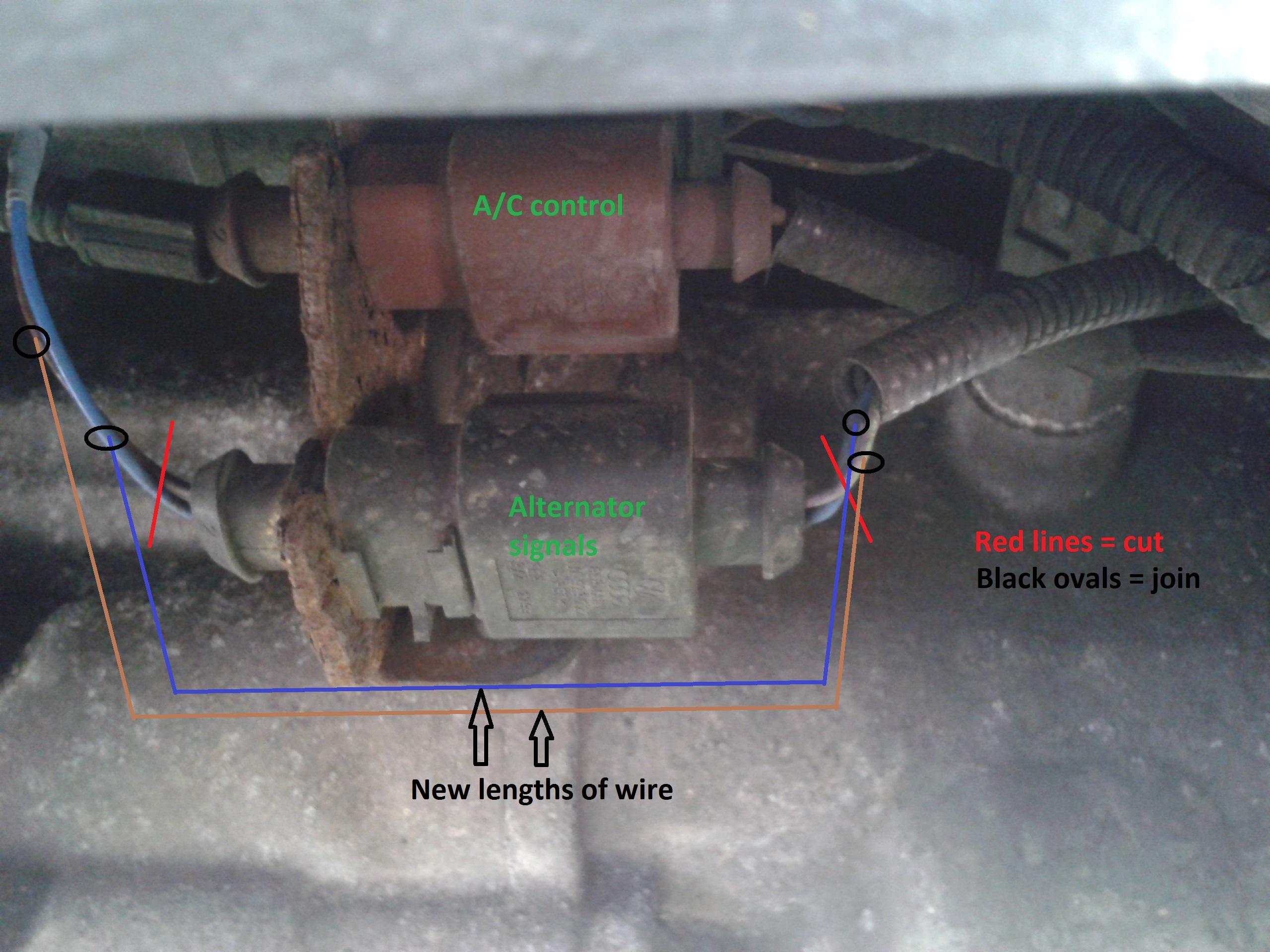 Skoda Fabia Alternator Wiring Diagram Diagrams Engine Analog Amp Meter Chrysler Ford