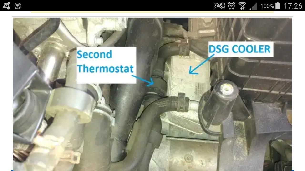 dsg equipped cars  thermostat skoda yeti guides briskoda