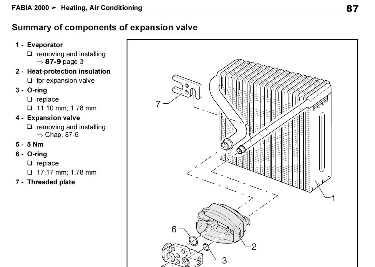 Mystery Ac Evaporator And Expansion Valve Skoda Fabia Mk I Briskoda Diagram Imagethumbfac787df724ea0a42f223e4ba547dd20