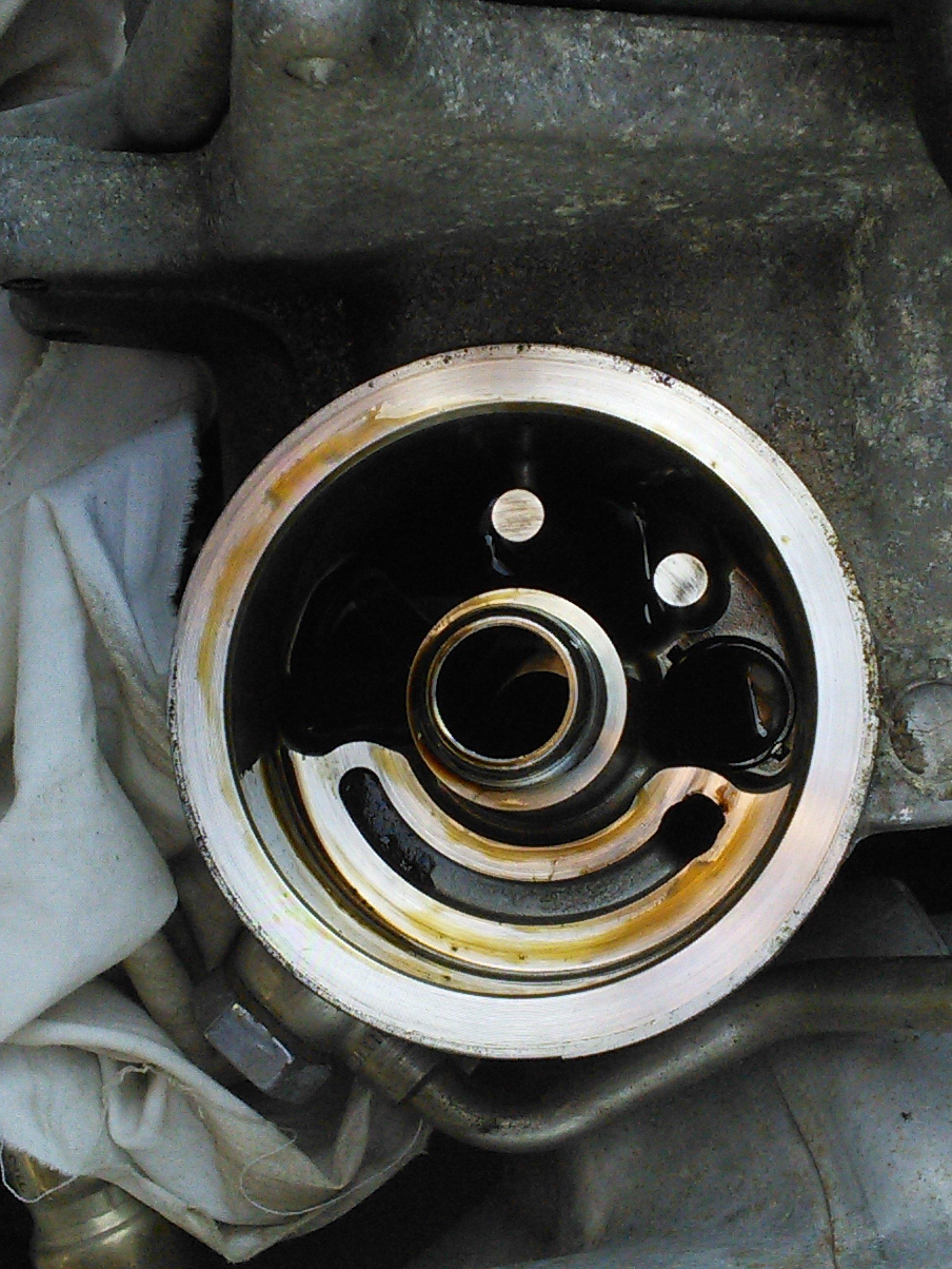 1 2 Tsi Oil Filter Mounting Skoda Yeti Briskoda
