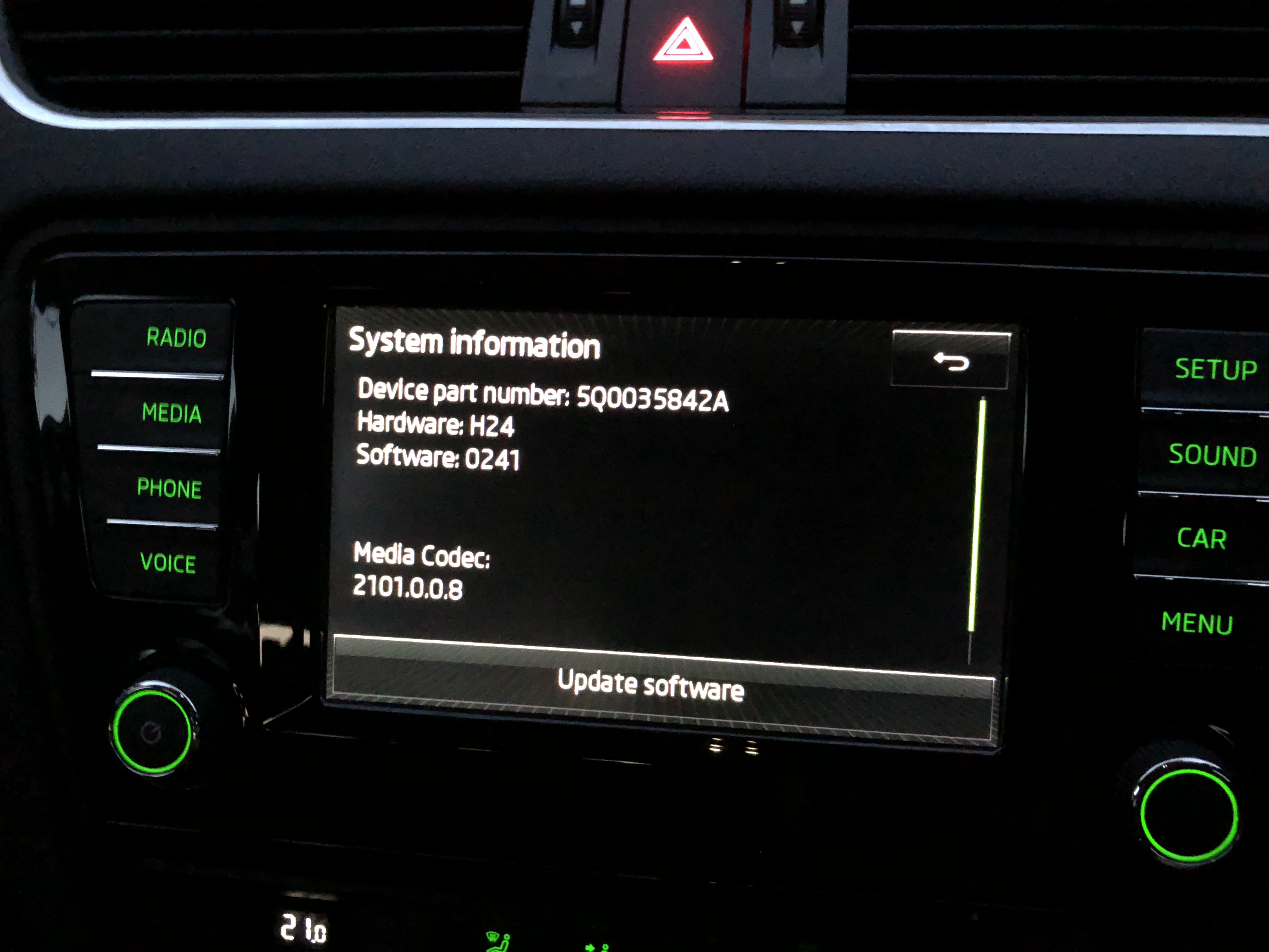 Enable SmartLink - Skoda Octavia Mk III (2013 onward) - BRISKODA