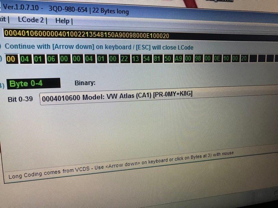 VCDS options on Superb III - Page 55 - Skoda Superb Mk III