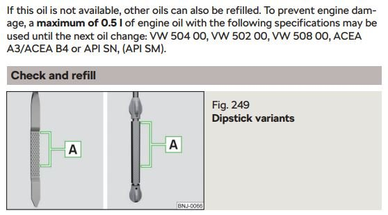 Vw 508 Approved Oils
