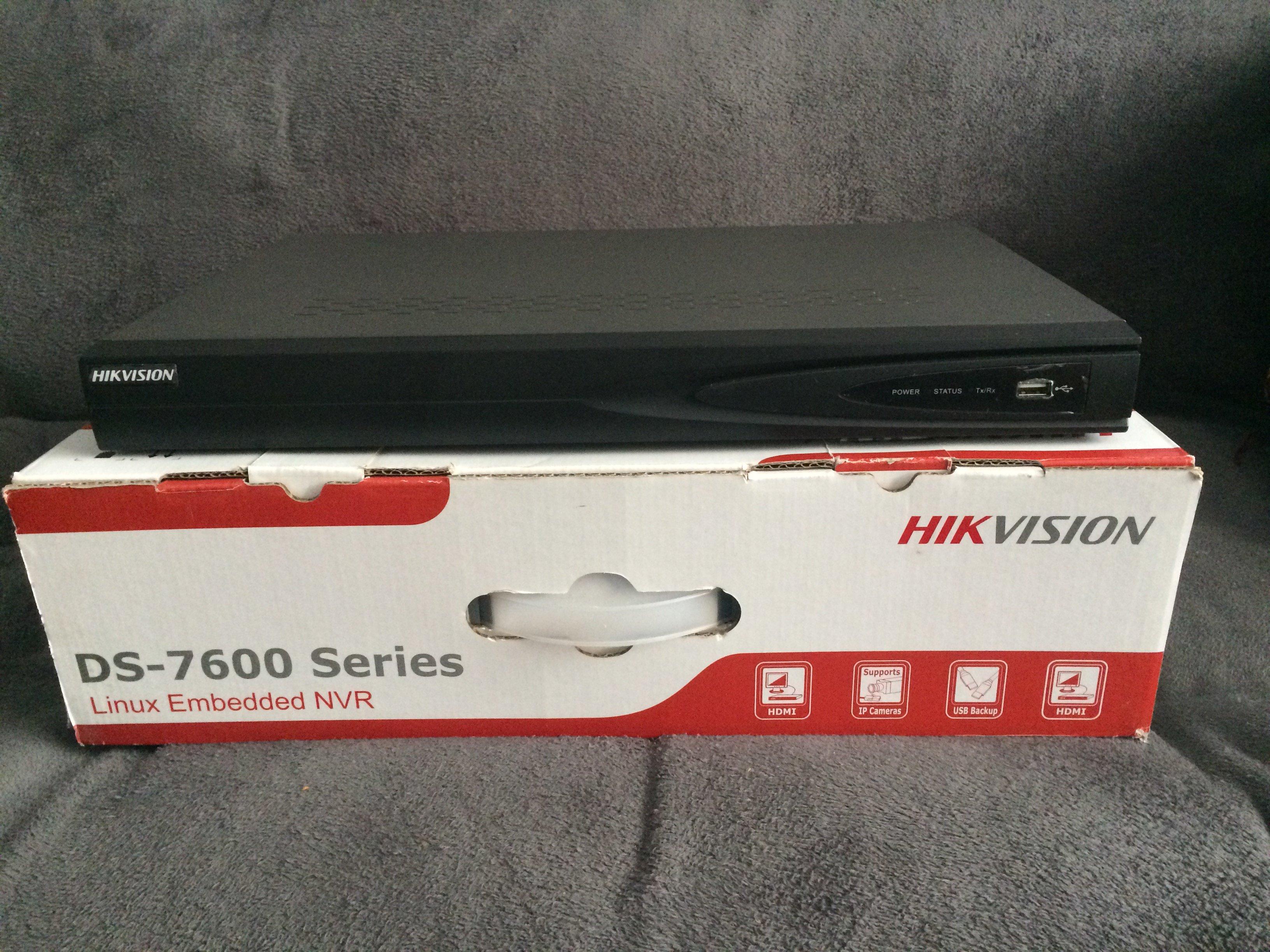 Hikvision DS-7604NI-SE/P NVR - Non Automotive Items - BRISKODA